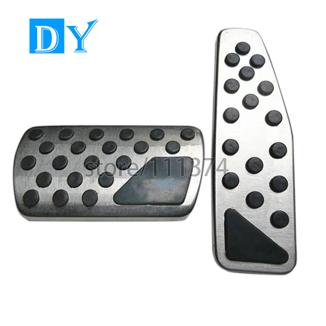 Nulla No Drill Stainless Steel Foot Rest Pedals Gas Fuel Brake Pedals MT Automatic For Chevrolet Captiva Auto Accessories