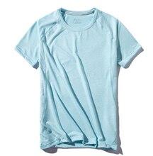Новая летняя мужская быстросохнущая эластичная Спортивная футболка LULI2 для бега
