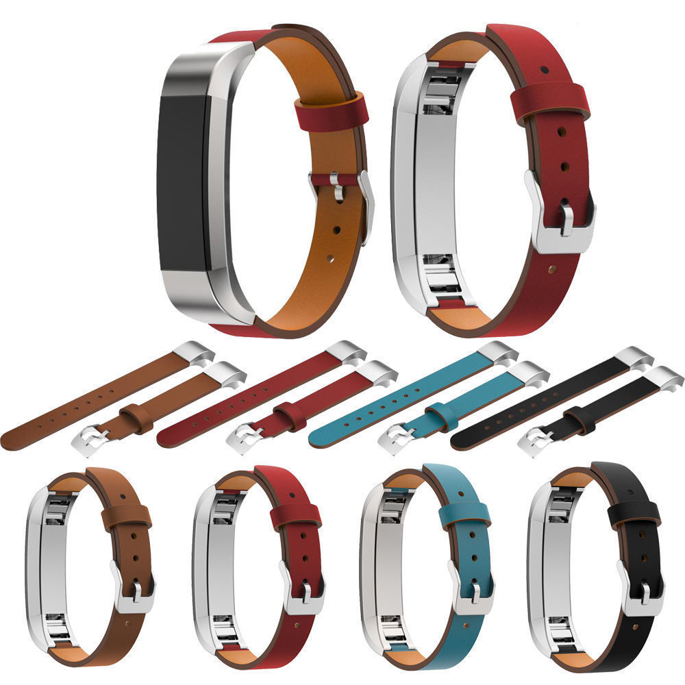 Joyozy High Quality Pedometer Walking Calorie Replacement Genuine Leather Band Strap Bracelet For Fitbit Alta Tracker Wristband stainless steel watch band wrist strap for fitbit alta hr fitbit alta metal watchband fitbit alta fitbit alta hr metal band