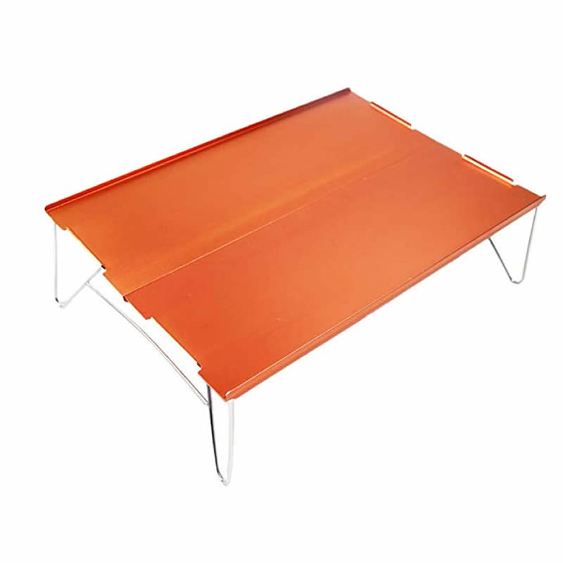 Image 3 - xiu Mini Small Aluminum Camping Picnic Outdoor Hiking Table One and Two People-in Outdoor Tables from Furniture