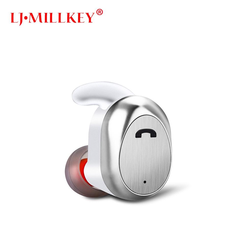 Bluetooth Earphone TWS True Wireless Earbuds Bluetooth 4.1 Stereo Earphones LJ-MILLKEY YZ125