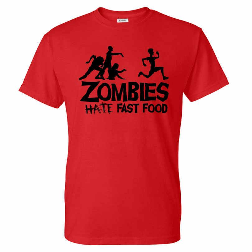 夏メンズtシャツゾンビおかしいスローガントップtシャツグローイング盗品半袖コットンtシャツoネックカジュアルプリントtシャツプラスサイズ