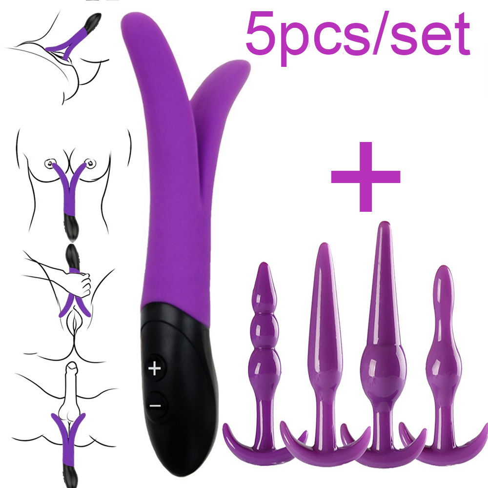Waterproof Rabbit Vibrator G spot Massager Multispeed Sex Toy Silicone Dual motors Vibrators for Women Sex Products for couple aluminum water cool flange fits 26 29cc qj zenoah rcmk cy gas engine for rc boat