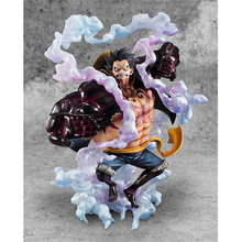 Anime Figure 28CM Big Size One Piece Gear Fourth Monkey D Luffy PVC Action Figure Collectible Model Toy