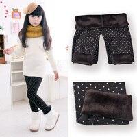 2014 Spring Autumn Winter New Fashion Children S 2 9 Year Cotton Warm Pant Girls KidsTrousers