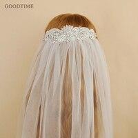Fashion Wedding Veil Rhinestone Veils Long Bridal Wedding Accessories Crystal Flowers Cathedral Bride's Veil For Wedding Party