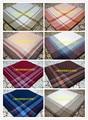 100% Cotton Handkerchief Plaid Pocket Square Mens Handkerchief 5 Pcs/Lot