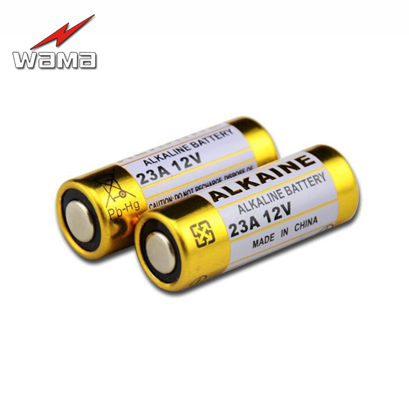 Netural Packing 5pcs 23A 12V Alarm-Remote Dry Alkaline Battery 23AE 21/23 A23 12V 23GA MN21 Remote Control Alarm Keyless Entry