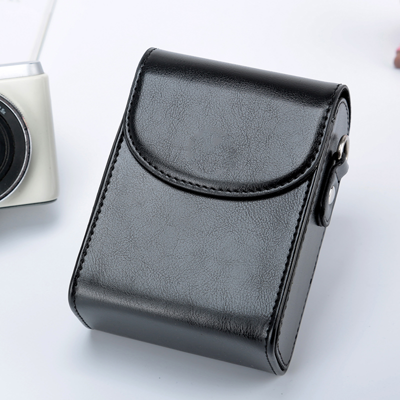 PU Leather Camera Bag <font><b>Case</b></font> For Panasonic <font><b>Lumix</b></font> <font><b>LX7</b></font> LX10 LX15 TZ90 TZ80 TZ70 TZ60 TZ57 TZ50 TZ40 TZ30 TZ20 ZS70 ZS50 ZS30 ZS20 image