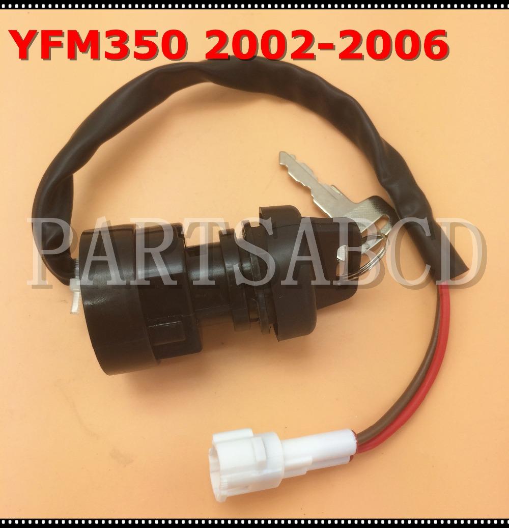 Ignition Switch Key FITS YAMAHA BANSHEE 350 YFM350 2002 2003 2004 2005 2006 ATV