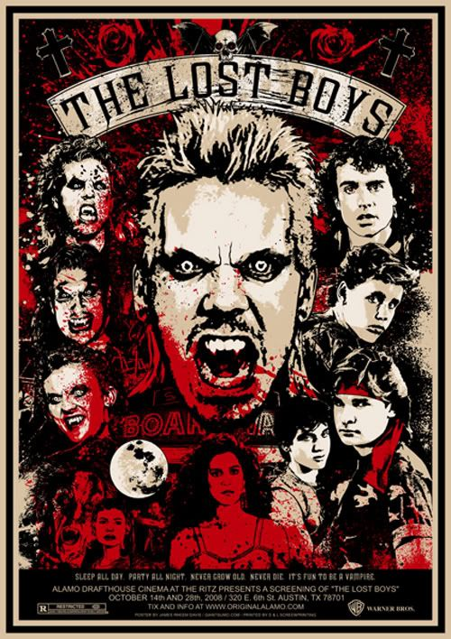 Vampire Lovers The Lost Boys Classic Retro Vintage Kraft Poster Decorative DIY Wall Canvas Sticker Home Bar Posters Decor Gift|Painting & Calligraphy| - AliExpress