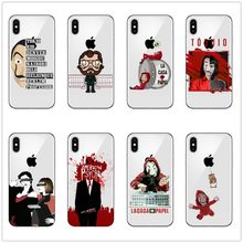 TV series Money Heist House of Paper Case For iPhone X Fundas For iPhone 5 5S SE 6 6S 7 8 Plus Cool Cartoon Back Cover(China)