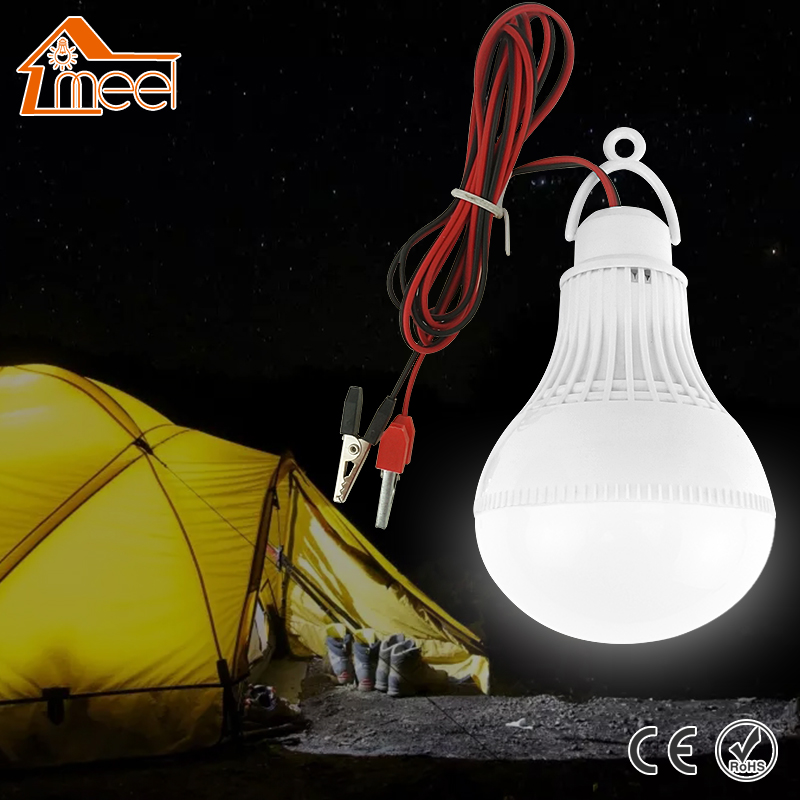 High Power 12V Led Bulb SMD 5730 Portable Led Lamp Outdoor Camp Tent Night Fishing Hanging Light lamparas 3W 5W 7W 9W 12W sanyi portable outdoor hanging tent camping lamp soft light led bulb waterproof lanterns night lights use 3 aaa battery