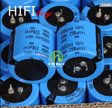 HIFIboy 220uF 500V Capacitance SPRAGU of ENippon Chemi Con 81D hifi amplifier Capacitance
