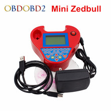 Latest Version V508 Super Mini ZedBull Smart Zed-Bull Key Transponder Black / Red Support Multi-Languages Key Programmer