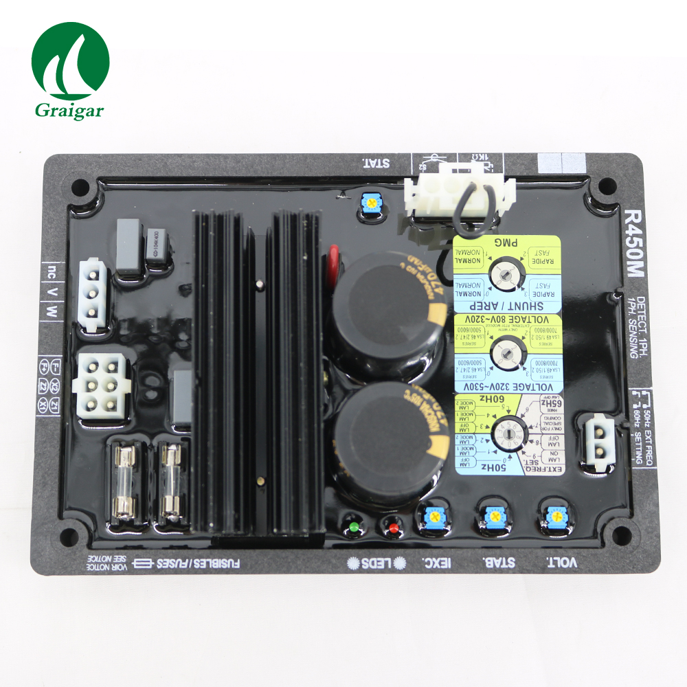 3 phase automatic voltage regulator for brush generator avr circuit diagram r450m [ 1000 x 1000 Pixel ]