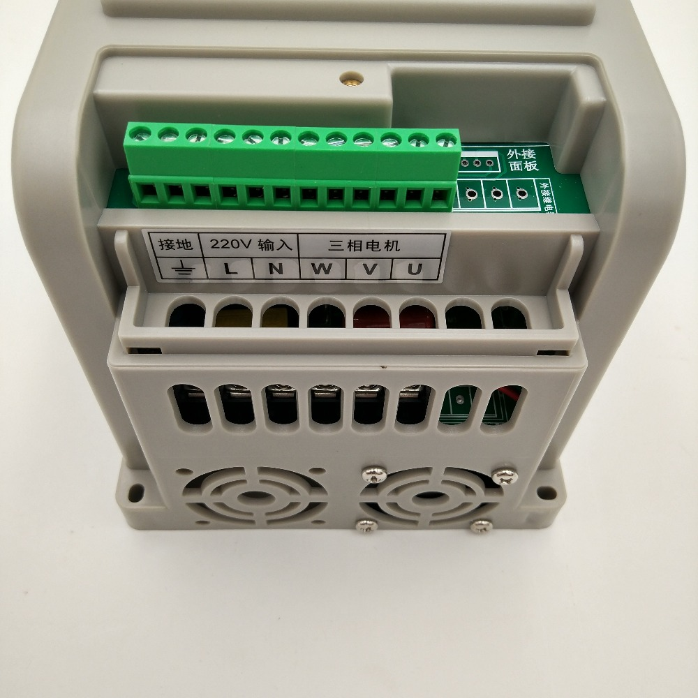 Closeout DealsInverter Motor Speed-Control Vfd 2.2kw 220V New CNC for 1p-Input-3p-Out