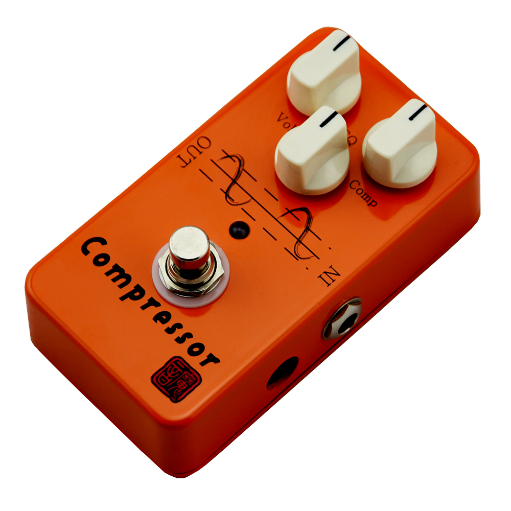 Moen Compressor Effect Pedal Vol EQ COMP Knob Electric Guitar Effects AM-CP True Bypass mooer ensemble queen bass chorus effects effect pedal true bypass rate knob high quality components depth knob rich sound