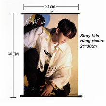 Fashion Kpop Stray Kids Hang picture 21*30cm poster stray kids album photocard for fans collection korean stationery set