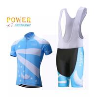 Women S Blue Moon Rabbit Bike Short Sleeve Jerseys Sport Bicycle Clothes Cycling Shorts Wear Short