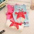 heat! 2016 Retail newborn baby boy T-shirt 100% cotton T-shirt material Beautiful girl boy children's coat Boys Free Shipping