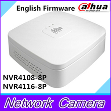 DAHUA 8MP h.265 NVR4108-8P-4ks2 NVR4116-8P-4ks2 8ch 16ch mini NVR 8 poe port DH-NVR4108-8P-4ks2 replace nvr4108-8p nvr4116-8p