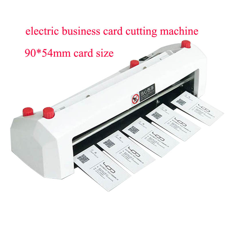 A4 size electric card cutter 90*54mm card size SK316 Heavy duty fine tuning electric business card cutting machine|Paper Trimmer| |  - title=