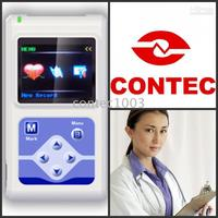 12 channels 24hours ECG Holter, Dynamic ECG Systems with recorder & analysis software