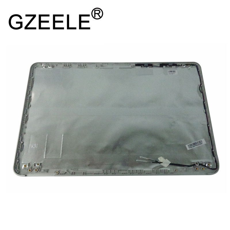 GZEELE New for HP Pavilion 15-AU 15-AW Lcd Back Cover silver color LCD Rear Lid Top Back case 856325-001 gzeele new for dell for vostro 3360 v3360 p32g lcd back cover top rear lcd lid cover case silver 00nxwd