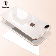 Baseus Transparent Back Glass Film for iPhone 8 8Plus