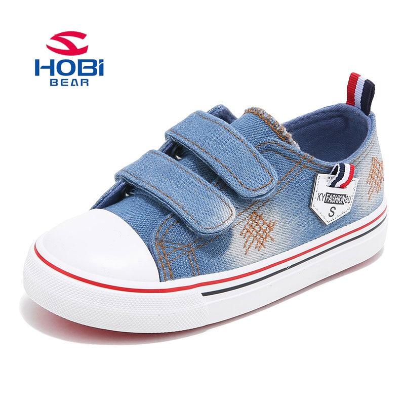 HOBIBEAR niños zapatillas de lona planas cómodos zapatos de los - Zapatos de niños