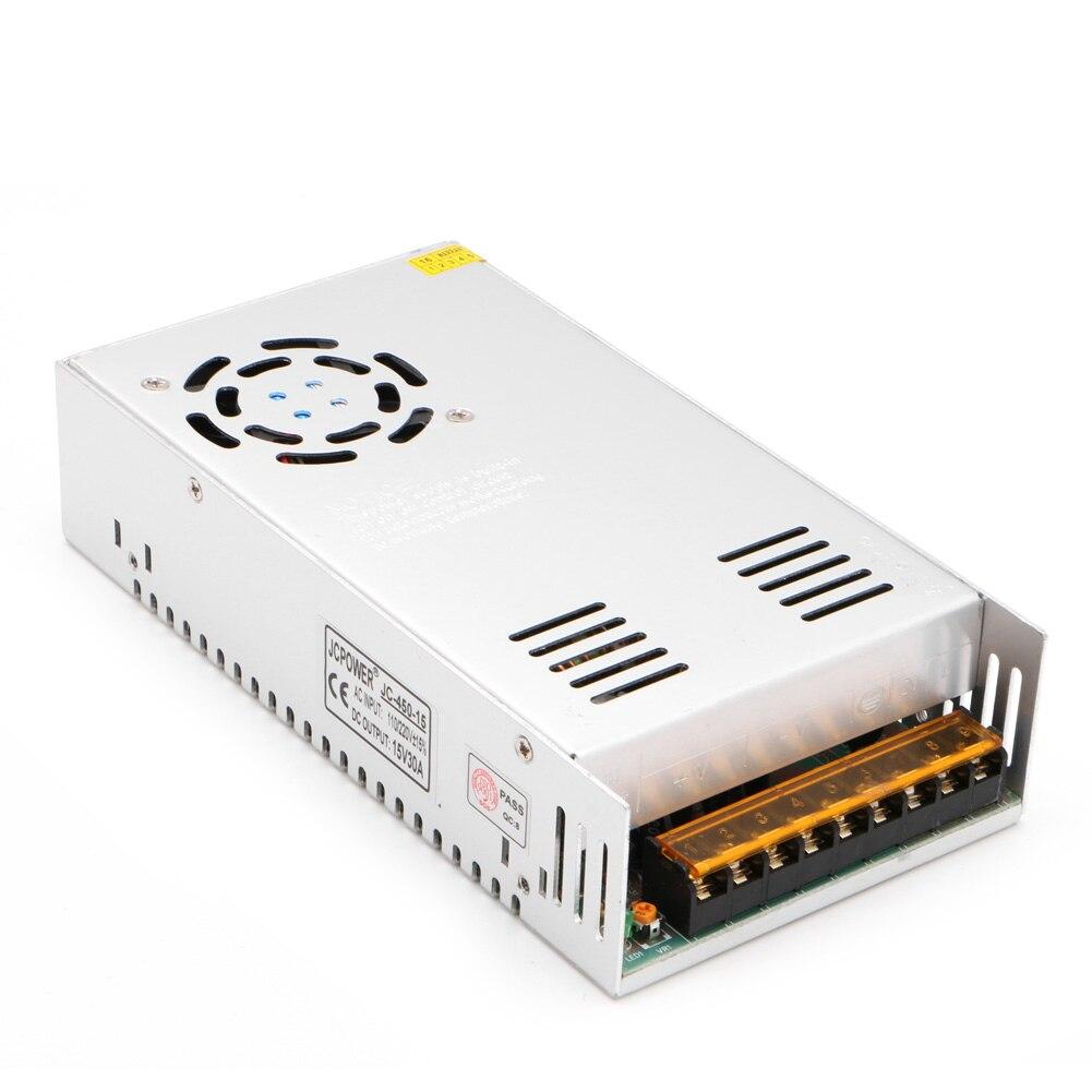 AC à DC 15V 5A 15V 30A 18V 10A 48V 5A 48V 7.5A commutateur adaptateur d'alimentation nouveau