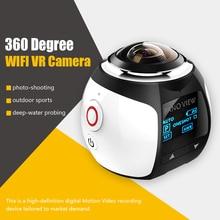 Одежда высшего качества 360 действие Камера Wi-Fi мини-панорамная Камера Ultra HD панорама Камера 360 градусов Водонепроницаемый Sport Driving VR Камера
