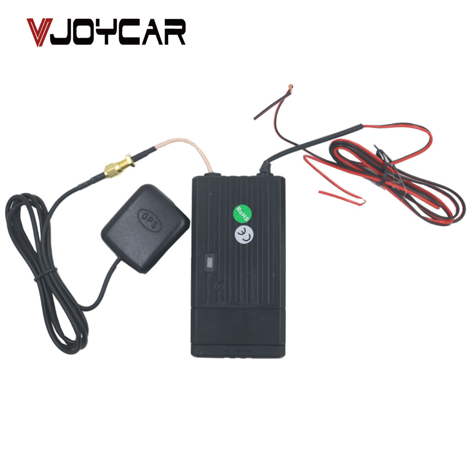 VJOYCAR T8124BMG Car Data Logger GPS Tracker Without SIM Card Rastreador Veicular 350mAh Backup Battery and Battery Monitor vjoycar tk10 10000mah removable rechargeable battery gps tracker rastreador veicular waterproof wifi sd offline data logger