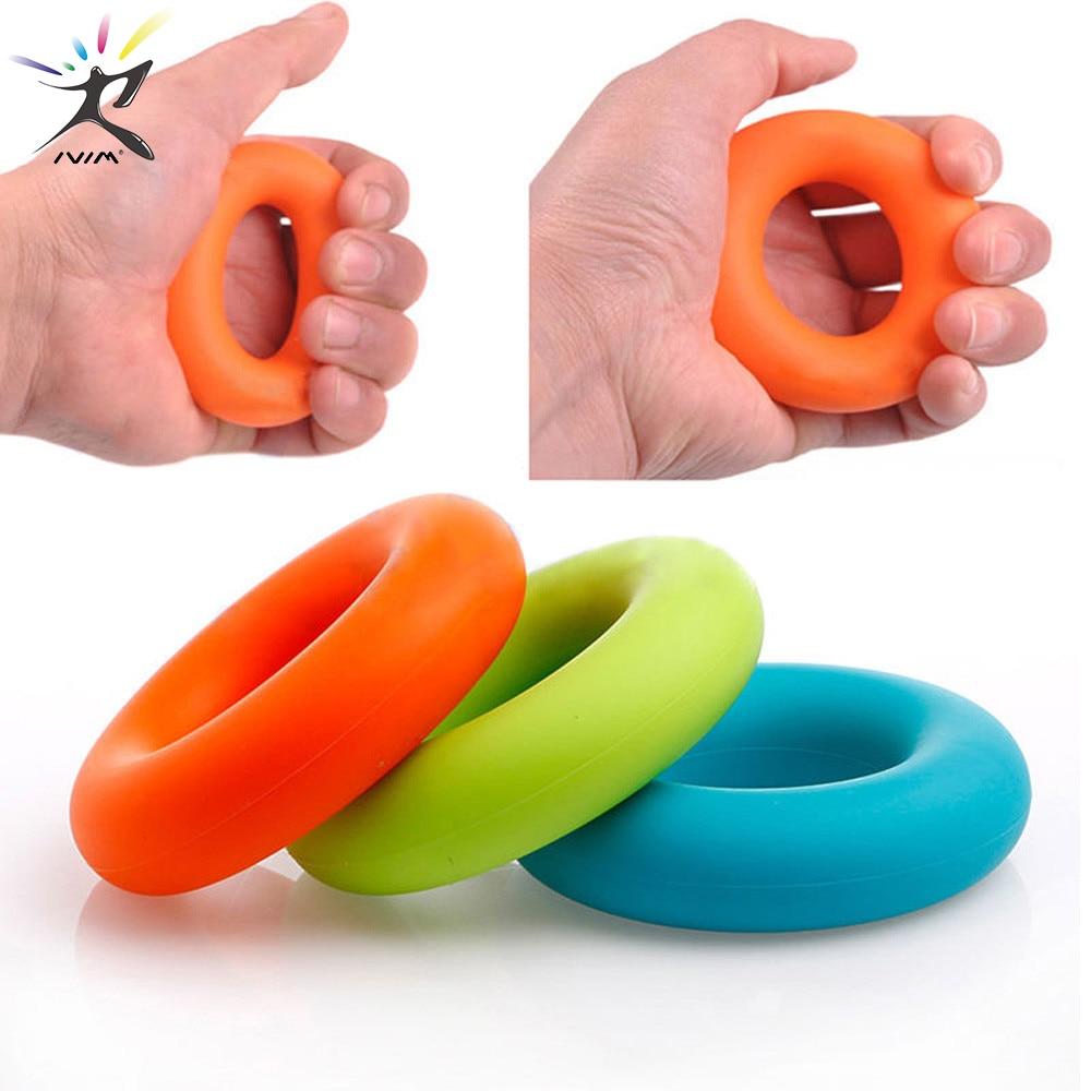Hand Grip Finger Gripper Strength Trainer Yoga Stretcher Finger Expander Exercise Equipment Gripping Ring Training Wrist Trainer