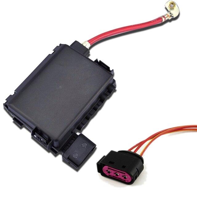 2 Pcs Fuse Box w/ Cable  Cover Pour VW Jetta VW Bora VW Golf MK4