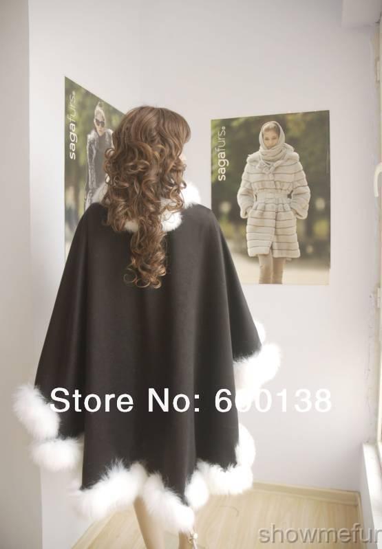 Заводская цена, весенне-осенняя кашемировая накидка с натуральным скрученным лисьим мехом шаль со срезанной кромкой, длина 90 см