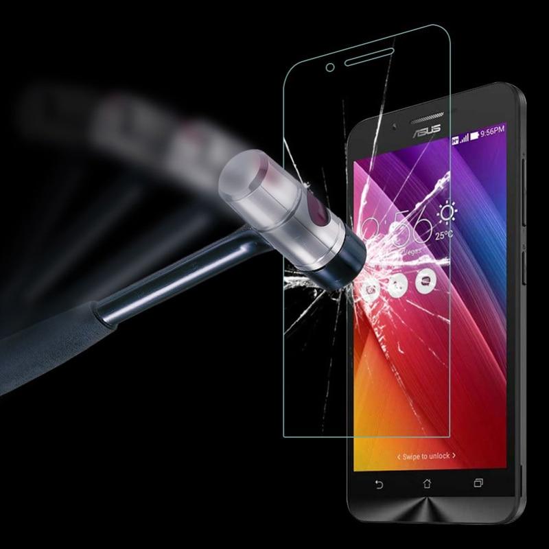 Asus Zenfone Go ZC500TG Ekran Qoruyucu Qoruyucu Film HD Ön Templado Pelicula De Vidro ZC500TG üçün 0.3mm Tempered Glass