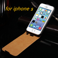 Open Up And Down Case For Iphone5 5S 5G Luxury Mobile Phone Protection Cover Hot Sale