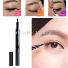 FreeShippingSolid Eyeliner Waterproof Liquid Eye Liner Pencil Pen Make Up Beauty ToolssDropShippingxgrj