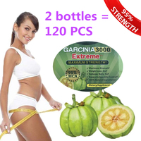 2 Bottles Free Shipping Pure Garcinia Cambogia Extract Slimming Products Loss Weight Diet Product For Women