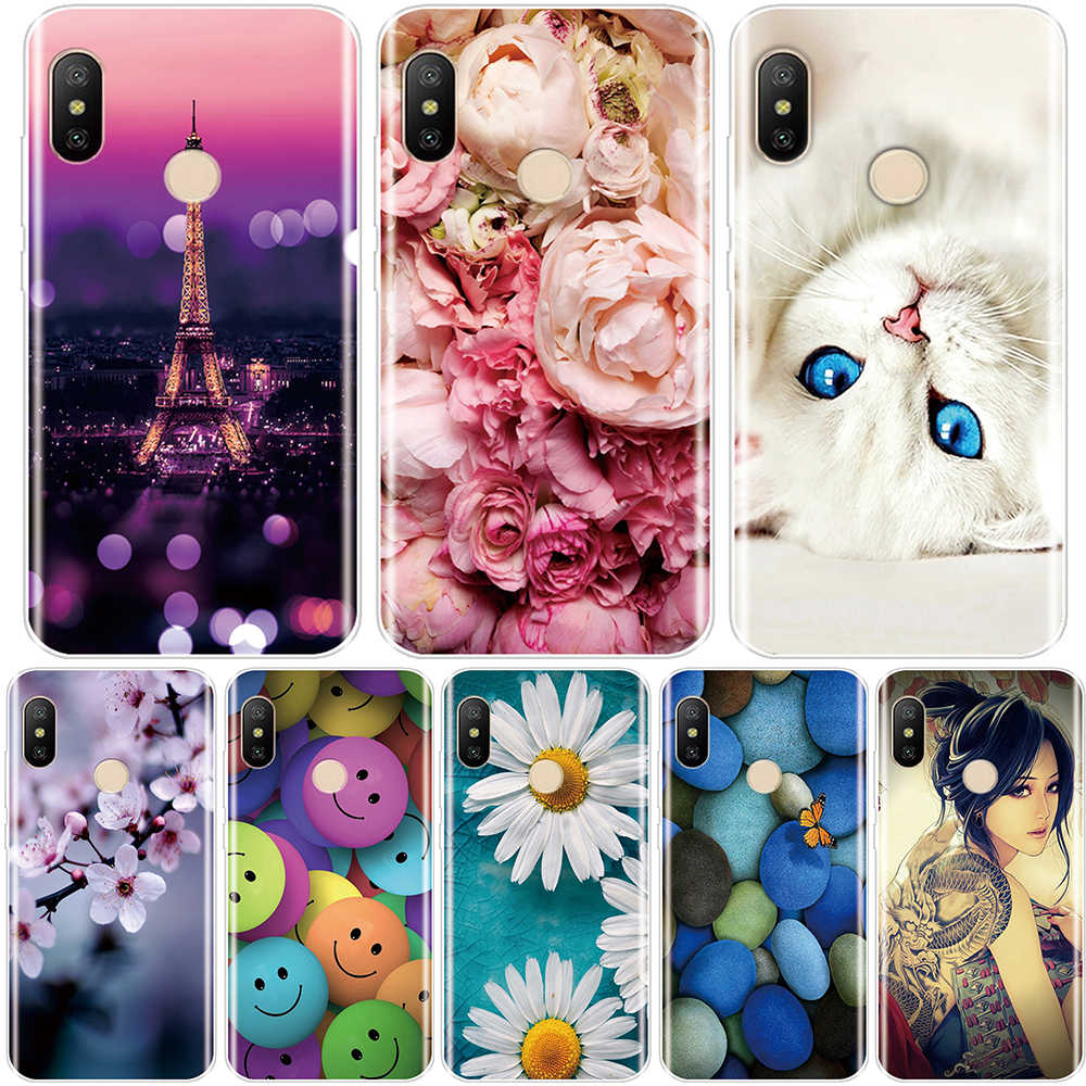 Fashion Phone Cases For Redmi S2 6A 5 Plus 4A For Pocophone F1 Xiaomi Redmi Note 4 4X 5 5A 6 Pro Prime Silicone Case Back Cover