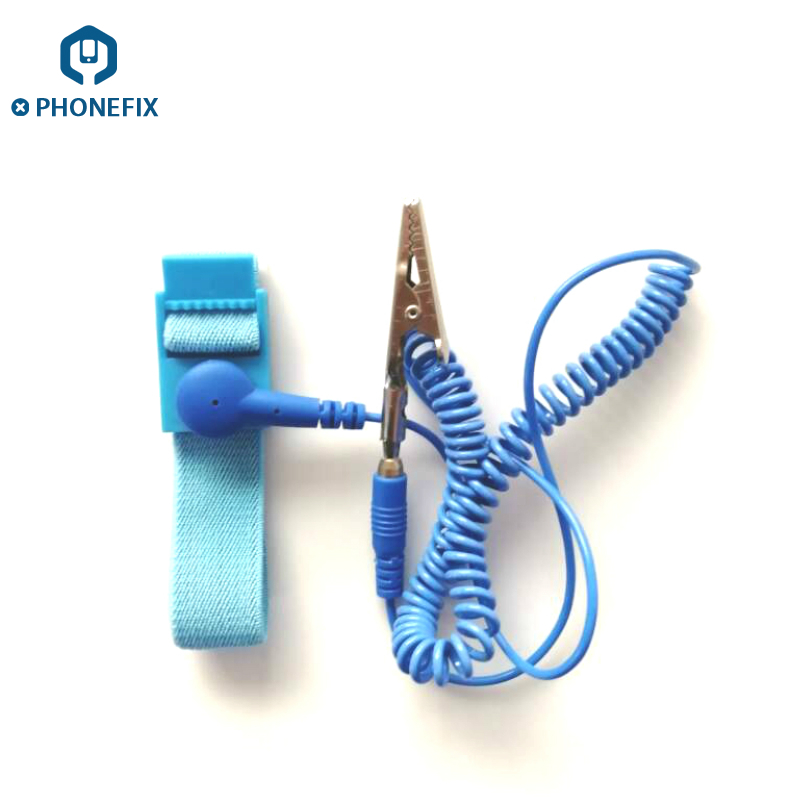Hand Tool Sets Phonefix Anti-static Wrist Band Strap Electronic Components Repair Hand Tool Esd Discharge Cable With Grounding Wire An Enriches And Nutrient For The Liver And Kidney