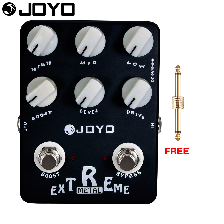 JOYO Extreme Metal Electric Guitar Effect Pedal Epic Heavy