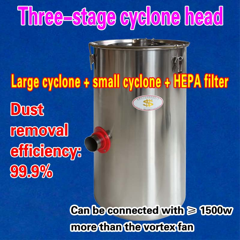 Three-stage cyclone head = Large cyclone + small cyclone + HEPA filter (1 piece) цена