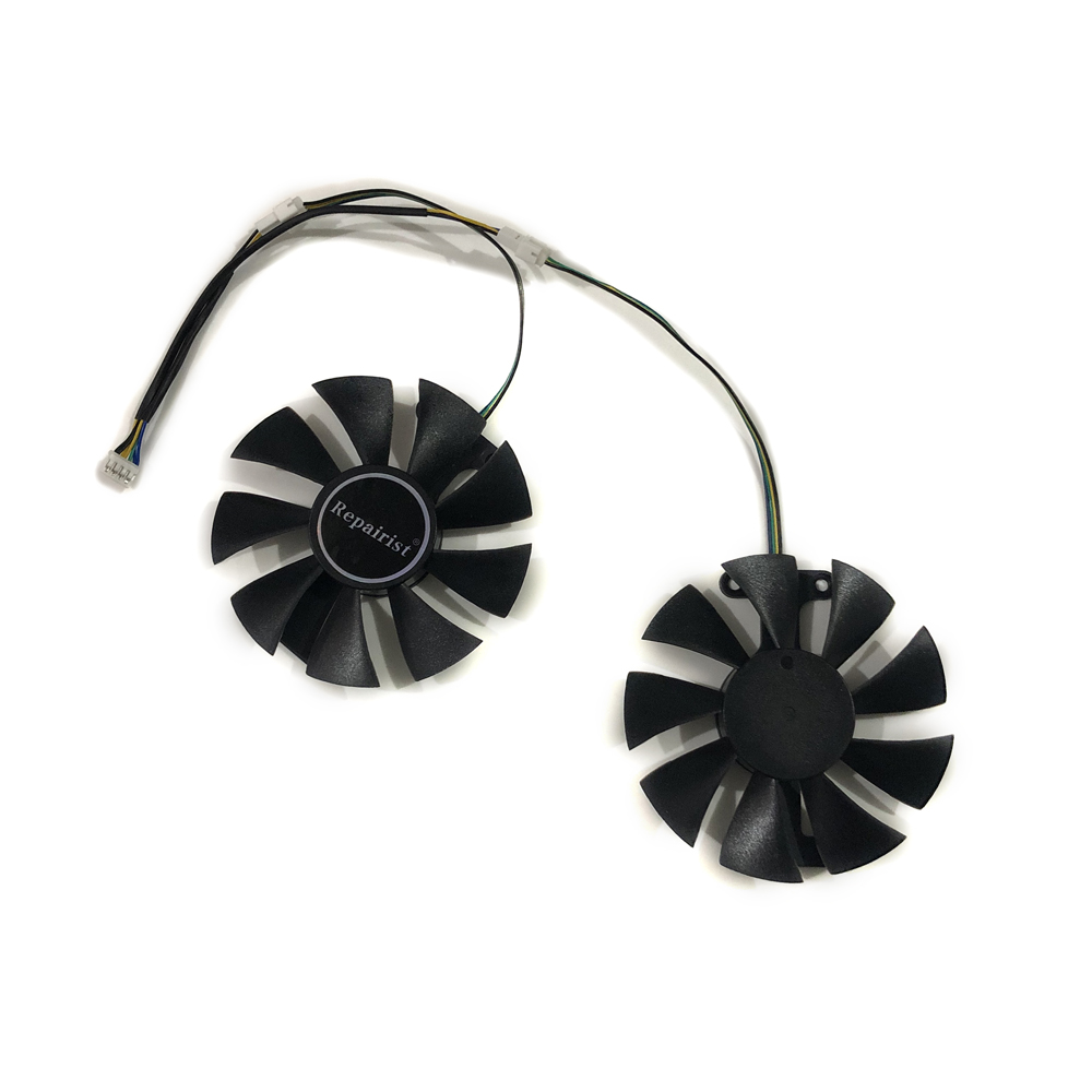 for 1PCS Gigabyte GTX1060 GTX1070 graphics card fan T129215SU diameter 87mm 4PIN
