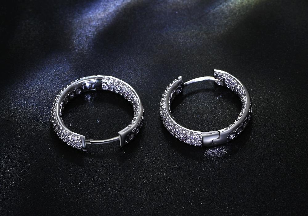 Women hoop Earrings (2)