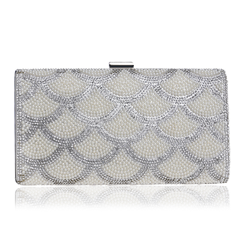 2018 New and Fashionable, Elegant Women's Clutch Evening Bag with Luxurious Diamonds, Chain Bag цена