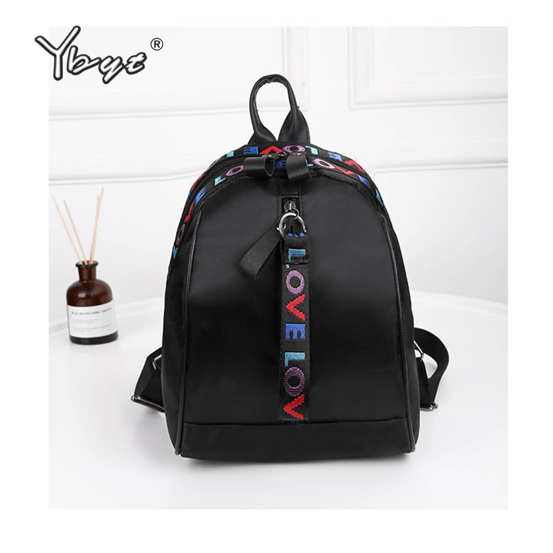 Ybyt Brand New Mini Fashion Women Backpack Joker Leisure Stylish Backpack School Small Bags For Women Morrales Bts Bags