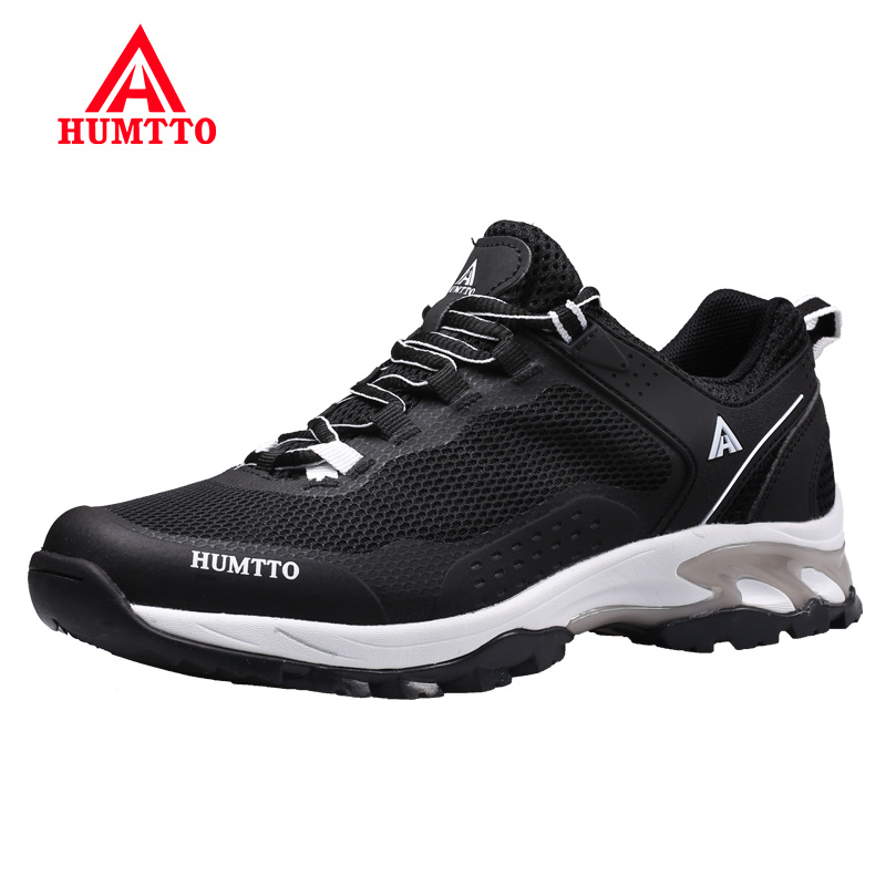 Buy Breathable Light Lace-up Man Sneakers Spring Summer New Mesh Male Shoes Adult Non-slip Wear-resistant Cushioning Man Footwear